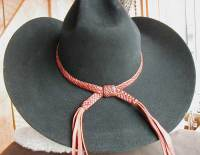Custom Leather Hatbands